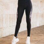 Дамски спортен клин с висока талия ELEYA
