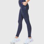 Дамски супер-стягащ спортен клин с висока талия LEAA